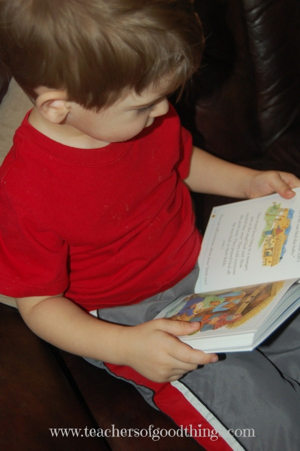 Toddler Bible time