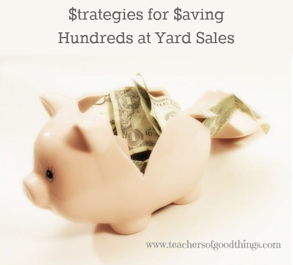 Strategies for Saving Hundreds at Yard Sales