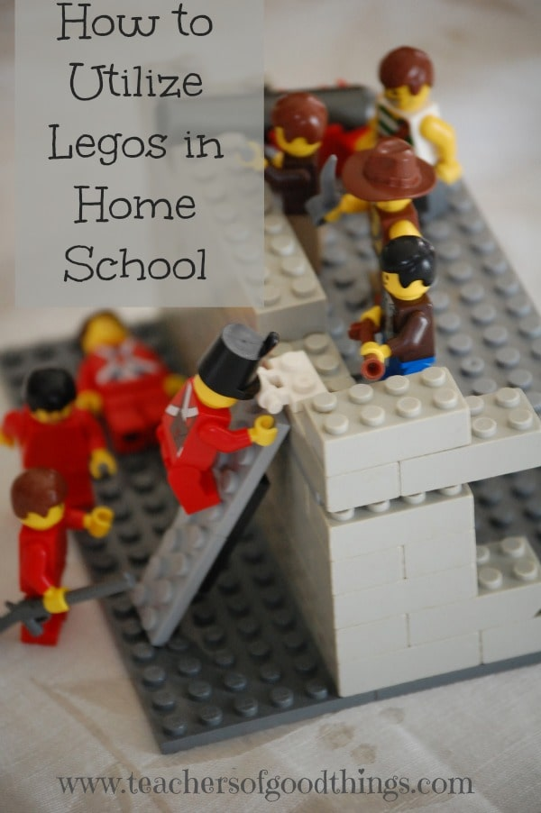 Great ideas of adding Legos into your homeschool.