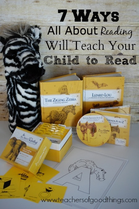 7 Ways All About Reading Will Teach Your Child to Read www.teachersofgoodthings.com