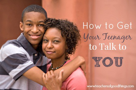 how to talk so your teenager will listen