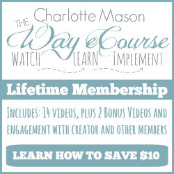 The Charlotte Mason Way eCourse