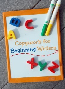 Copywork for Beginning Writers | www.teachersofgoodthings.com