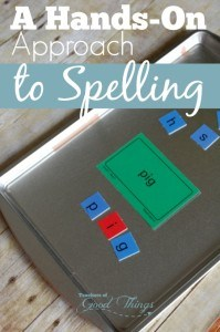 A Hands on Approach to Spelling - Take the struggle out of spelling and make it fun! | www.teachersofgoodthings.com