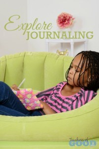 Explore Journaling - Part of the 31 Days of Exploring Free Afternoon Activities | www.teachersofgoodthings.com