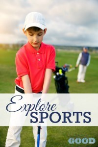 Explore Sports - Part of the 31 Days of Exploring Free Afternoon Activities | www.teachersofgoodthings.com