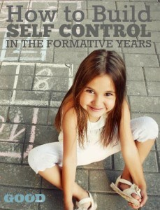 How to Build Self Control In The Formative Years - These tips will help you grow self control in your toddlers and preschoolers. | www.teachersofgoodthings.com